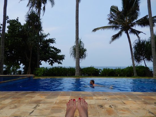 Windy Beach Cottages: Kolam Berenang