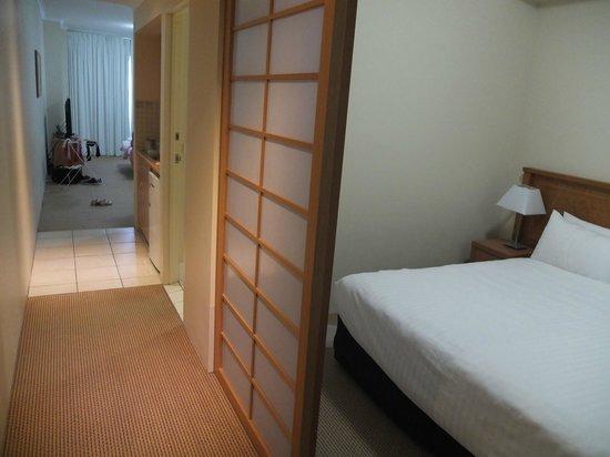 Ramada Resort Shoal Bay: View from door