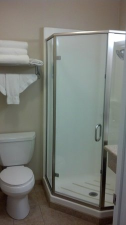Americas Best Value Inn Riverside: Great shower