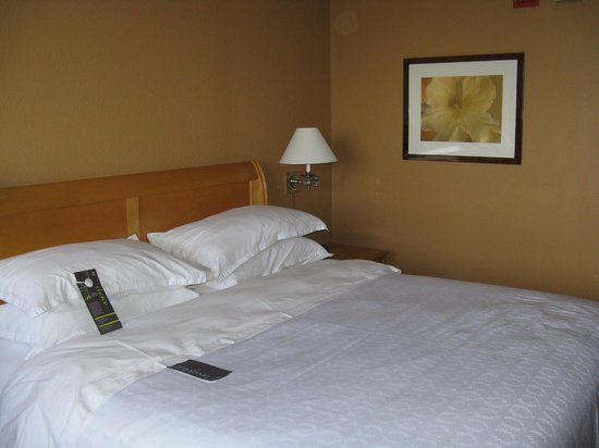 Sheraton Fort Lauderdale Airport & Cruise Port : wonderful bed