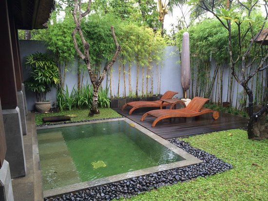 The Kayana Bali: Private dip pool within the villa