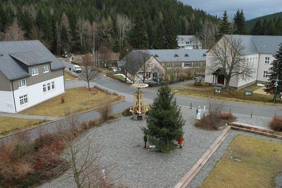 Hotel Alte Schleiferei: Blick vom Zimmer