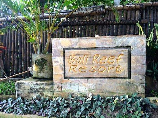 COOEE Bali Reef Resort: damit man ja nicht vergisst, wo man war!