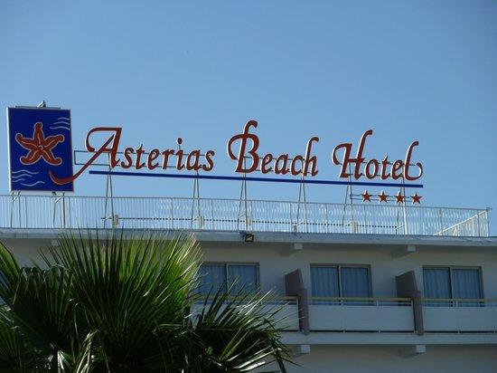 Asterias Beach Hotel: aussenansicht
