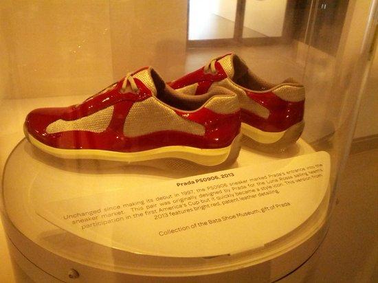 Bata Shoe Museum : Who knew Prada made sneakers as well!!