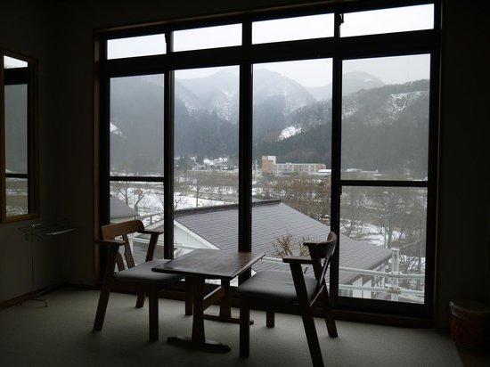 Ryokan Bentenkaku : View from Room (Sakura no Ma)