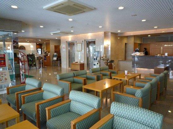 Hotel Belleview Nagasaki Dejima : ホテルロビー