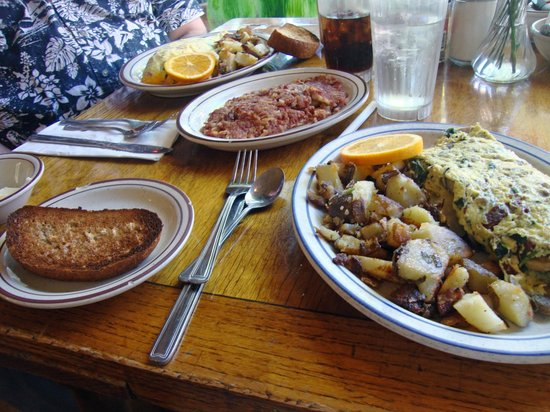 Don Taylor's Omelette Express : Great Omelette Breakfast