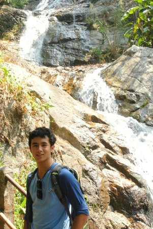 Flight of the Gibbon: Walk to the waterfall
