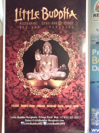 Little Buddha: Реклама, которую дали на входе