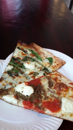 Landini's Pizzeria : warm, ready to go!