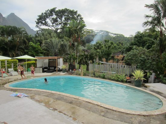 La piscine photo de village temanoha cook 39 s bay for Piscine village nature