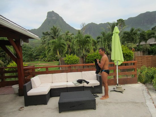 Village Temanoha : Vue de la piscine