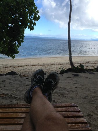 Royal Davui Island Resort: Or doing nothing