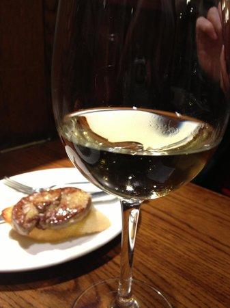 Bar Gaucho : Goose liver pinchos