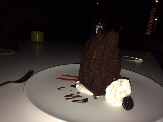 Bucuti & Tara Beach Resort Aruba : elements chocolate cake