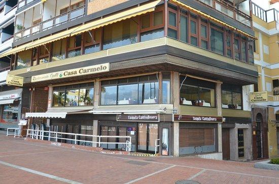 Grill Casa Carmelo : fachada