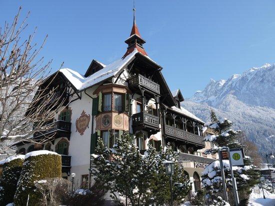 Posthotel Kassl im Winter