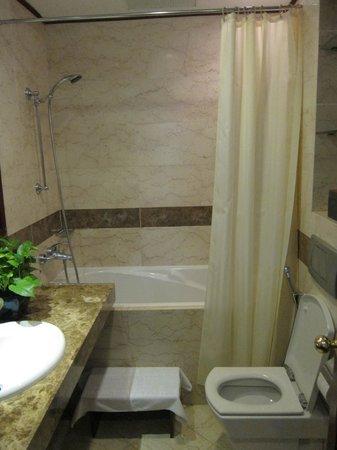 Hanoi E Central Hotel : Big bathroom