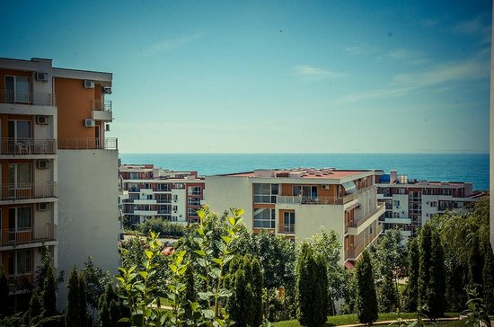 Grand Resort Apartments-Garden: sea view form the apartments