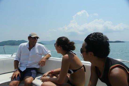Simba Sea Trips: Sebastien-First class service