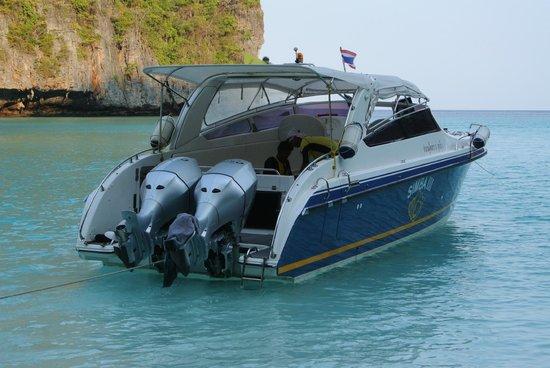 Simba Sea Trips: Great boat