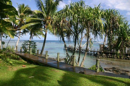 Sinalei Reef Resort & Spa: Blick aufs Meer
