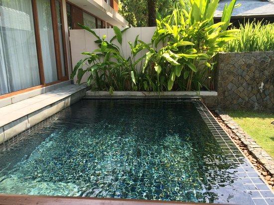 The Sarojin: Piscine privative en Pool residence