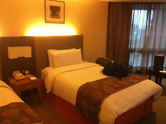 Hotel Jen Manila: Bed area
