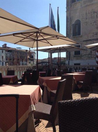 Hotel Palazzo Stern: Terrace