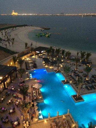 Doubletree by Hilton Ras Al Khaimah: View from our room. 6th Floor.