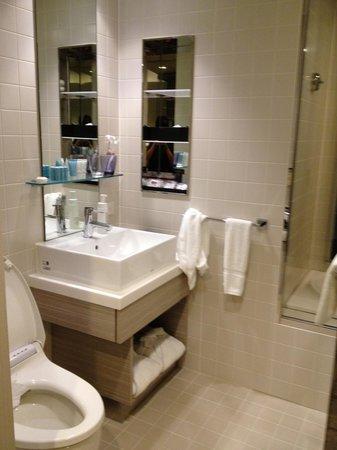 Mitsui Garden Hotel Ginza Premier : Bath room