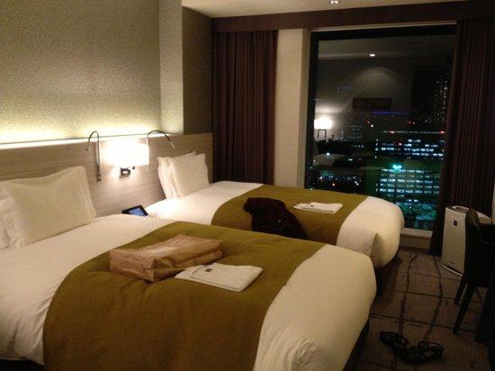 Mitsui Garden Hotel Ginza Premier : View Bath Twin room