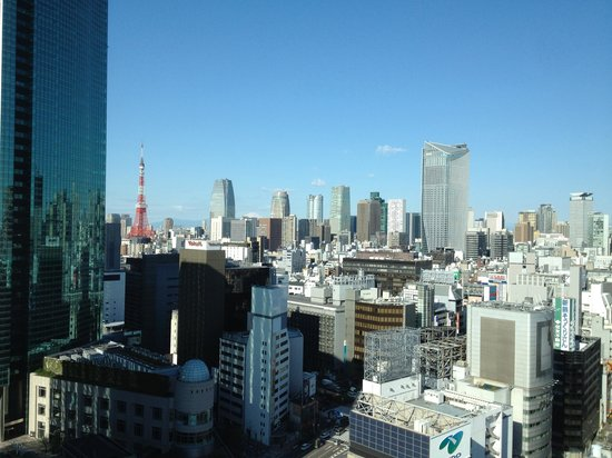 Mitsui Garden Hotel Ginza Premier: View from the lobby