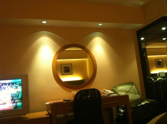 Hotel Jen Manila: Room area
