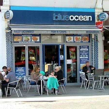 Delivery Via Just Eat App Blueocean Fish And Chips