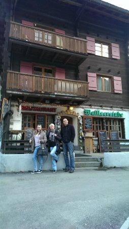 Walliserstube Zermatt : Walliserstube