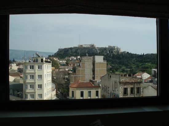 O&B Athens Boutique Hotel : amazing view