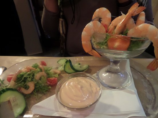 RESTAURANT IL PICCOLO MONDO : Shrimp