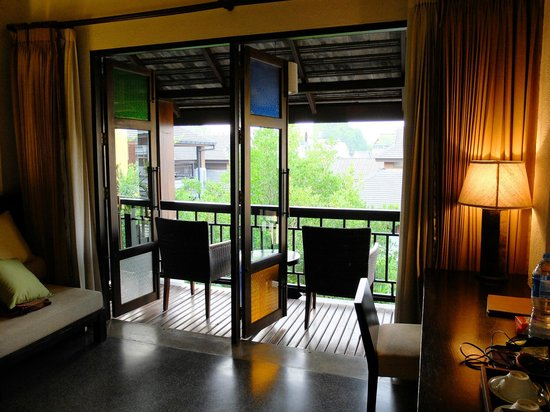 De Lanna Hotel, Chiang Mai: from inside the room