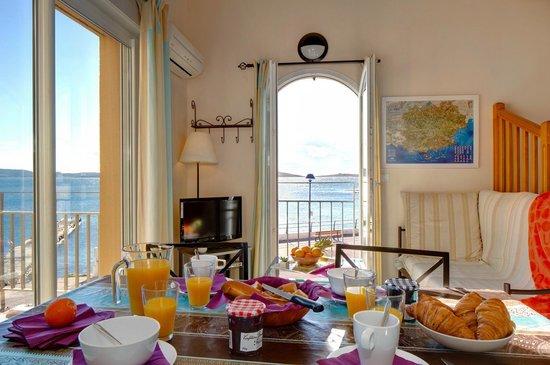 La Gabiniere: 2 pièces mezzanine Terrasse et vue mer - 5 personnes