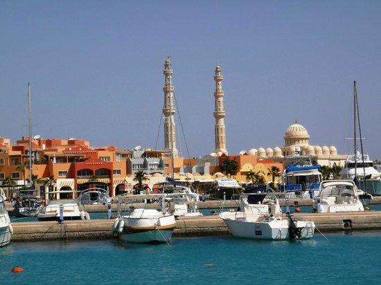Hurghada Marina : Вид с причала