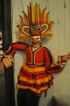 Ariyapala Mask Museum: Beautiful mask