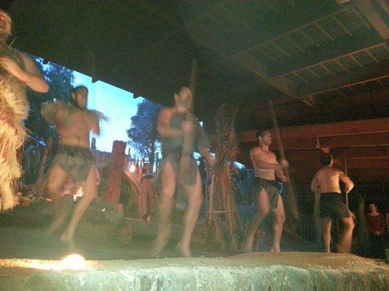 Mitai Maori Village: Cultural show....