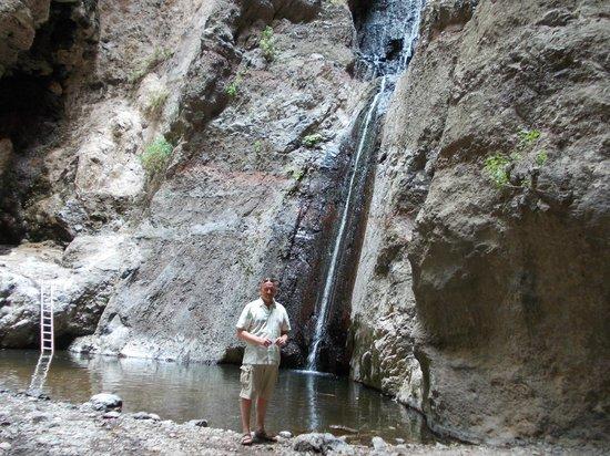 Barranco del Infierno: Wodospad na końcu wąwozu