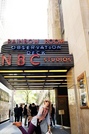 The Tour at NBC Studios : Heading inside for our tour