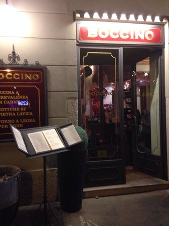 Ristorante Boccino: Entrata ristorante