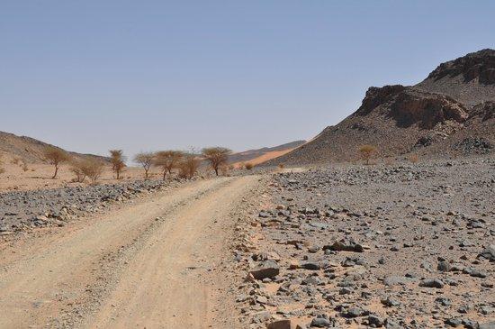 Aghbalou Ramlia Auberge: Sur la route vers l'auberge