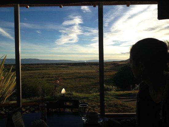 El Galpon del Glaciar: Breakfast with a view