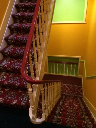 Hotel Derby : Staircase